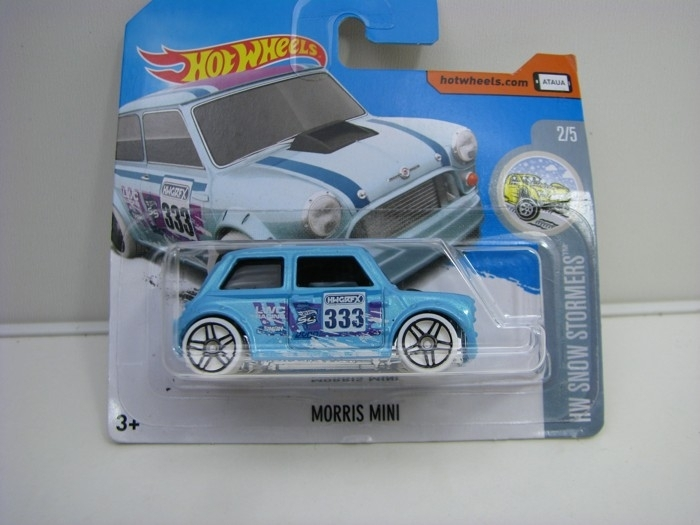 Morris Mini White Hot Wheels Snow Stormers-2018-DVC05